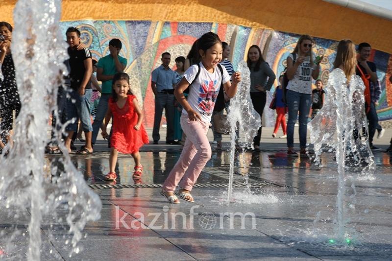 哈萨克斯坦将迎来今夏最热天气  最高气温将达43℃