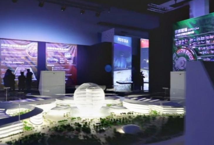 阿斯塔纳世博会展览在上海举行