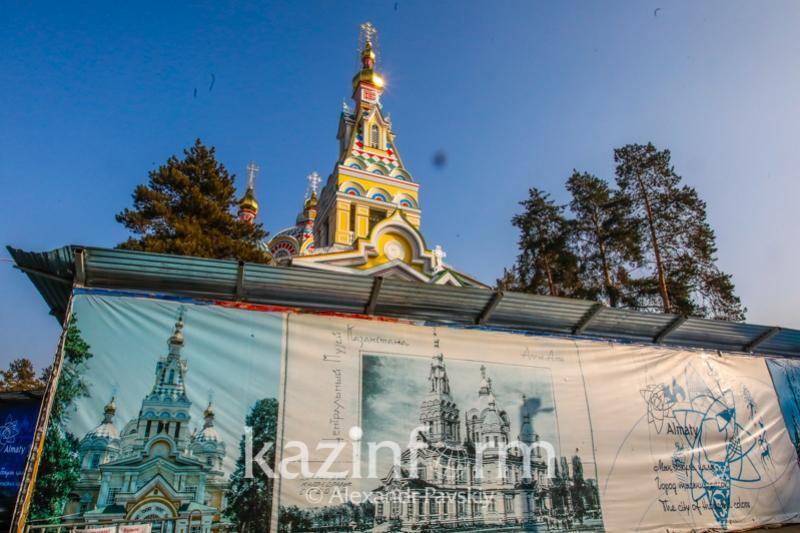 К Пасхе планируют открыть Вознесенский собор в Алматы