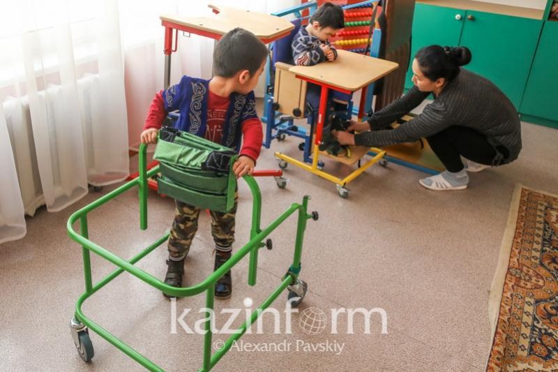 Реабилитационный центр для детей с ДЦП открылся в Жамбылской области