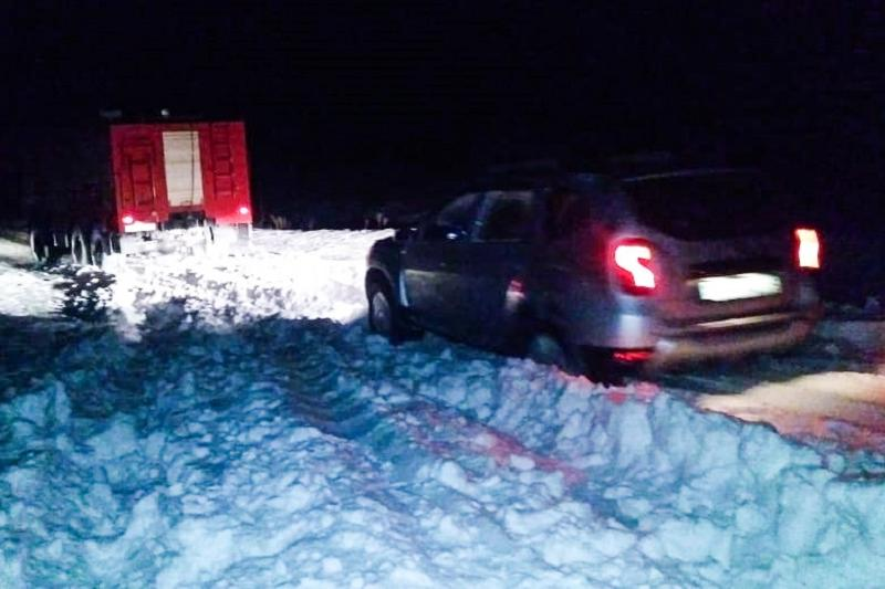 55 человек спасли из снежного заноса в Алматинской области