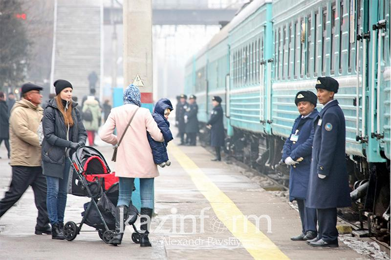 About 18mln passengers traveled by train n 2018 in Kazakhstan