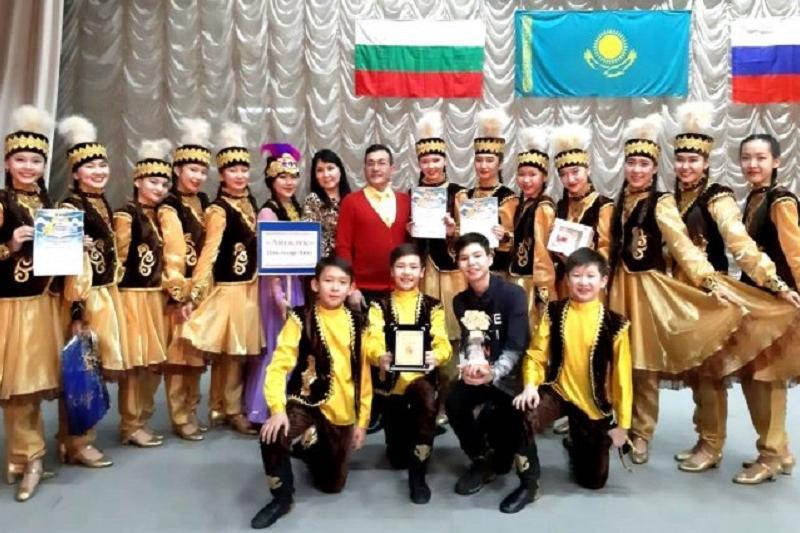 В Болгарию на международный конкурс поедут юные танцоры из Аксу