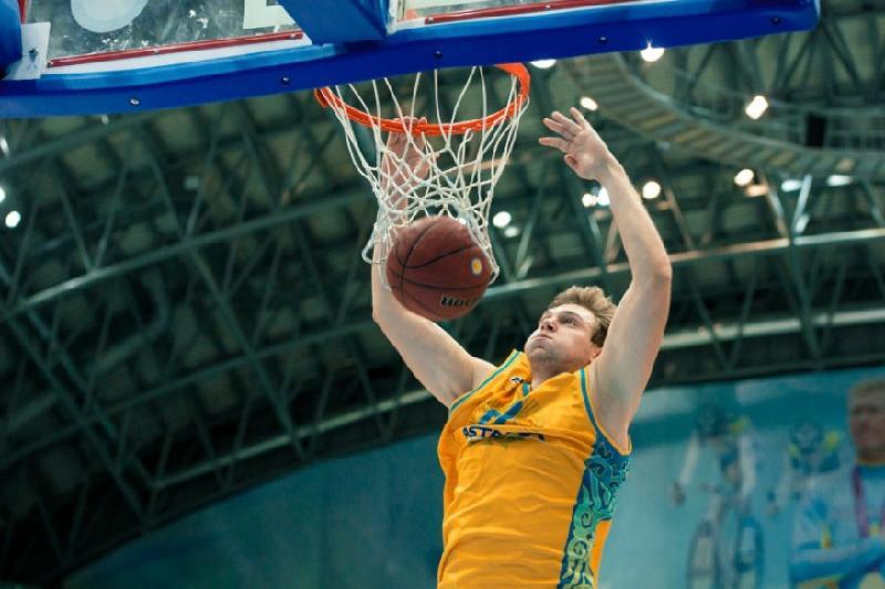 篮球:阿斯塔纳俱乐部多位球员入选VTB联赛全明星阵容