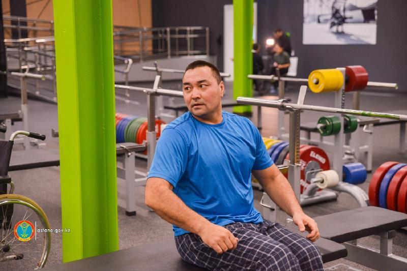 Паралимпийский тренировочный центр стал доступен для всех астанчан с ограниченными возможностями