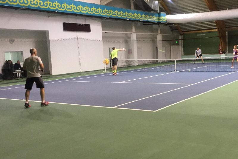 Республиканский парный турнир по теннису прошел в Кокшетау