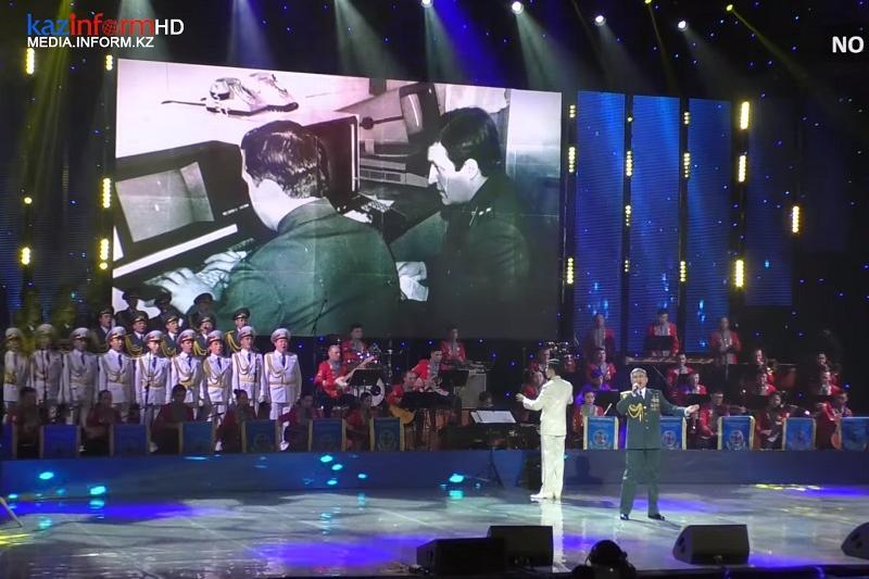 Ұлттық ұлан күніне орай Астанада гала-концерт өтті