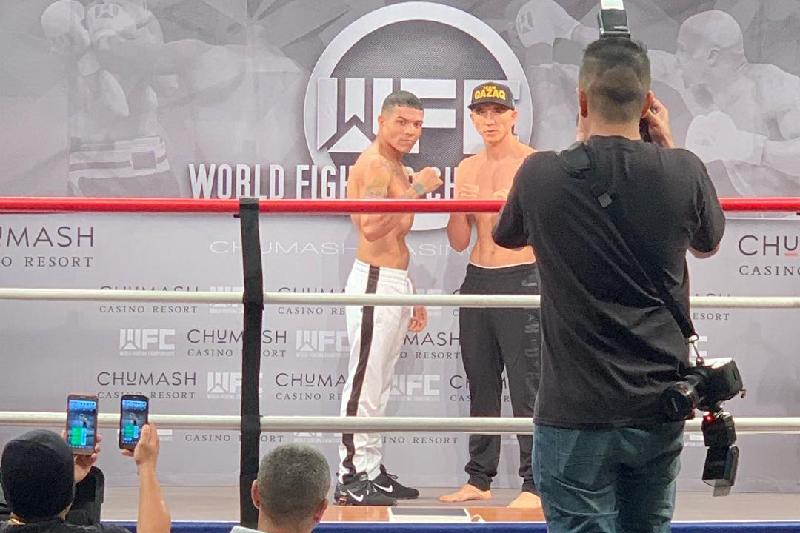 Kazakh KO artists weighed in before fighting in U.S.