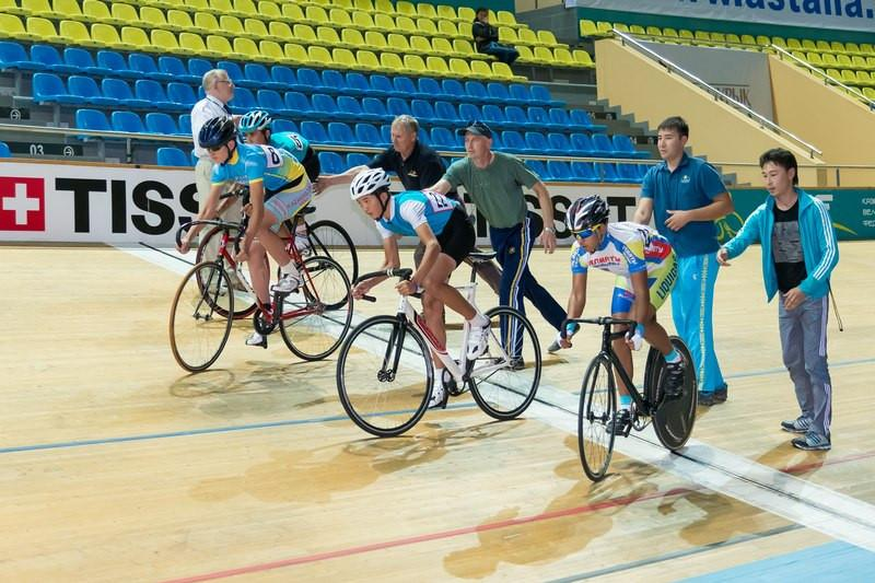 Kazakh athletes bag four medals at Asian Track Cycling Championships