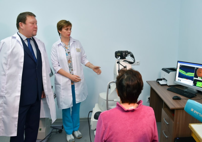 Modern ophthalmology centre unveils in N Kazakhstan