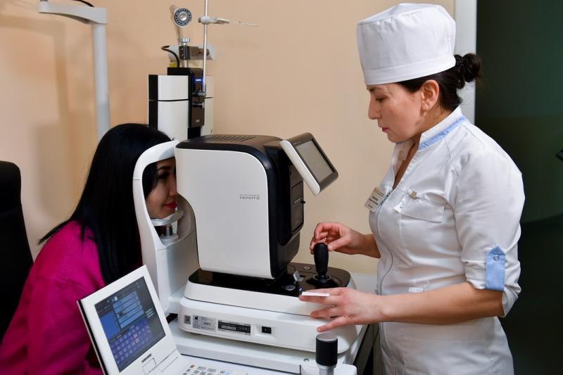 Современный офтальмологический центр открылся в СКО