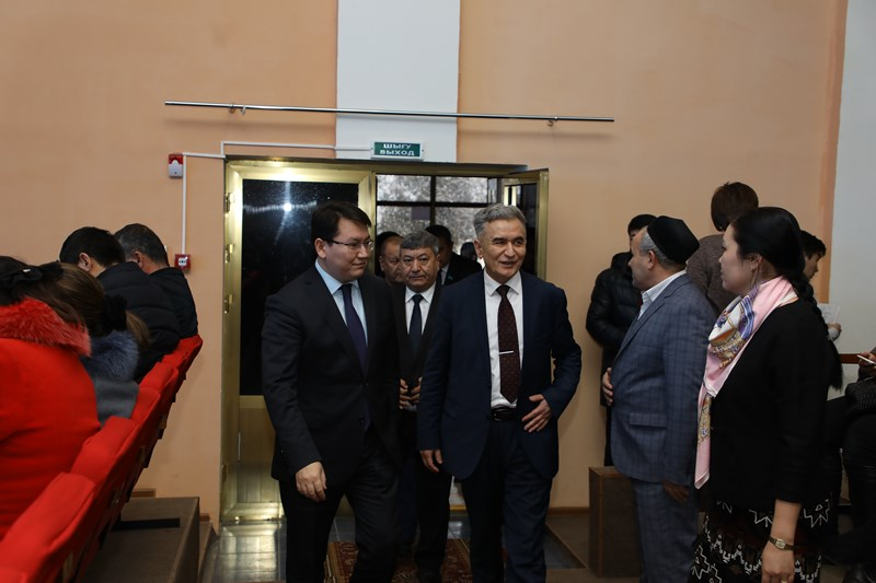 Түркістанда өзбек фильмдерінің күндері өтті