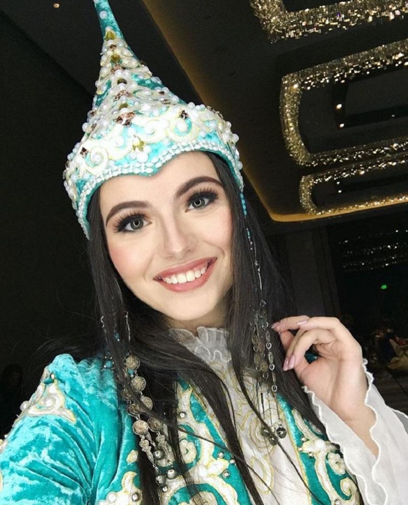 Студентка из Алматы вышла в финал конкурса Beauty of Universe 2019 в России