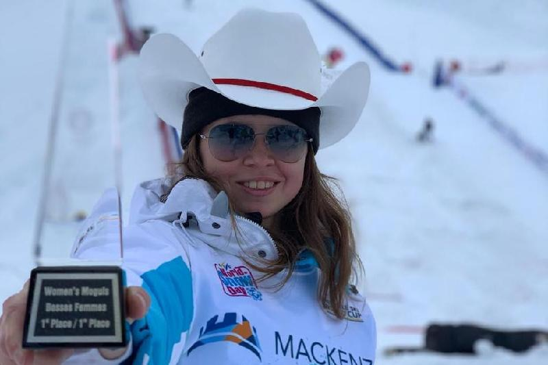 Kazakhstani Galysheva wins big at FIS Freestyle Ski World Cup in Canada