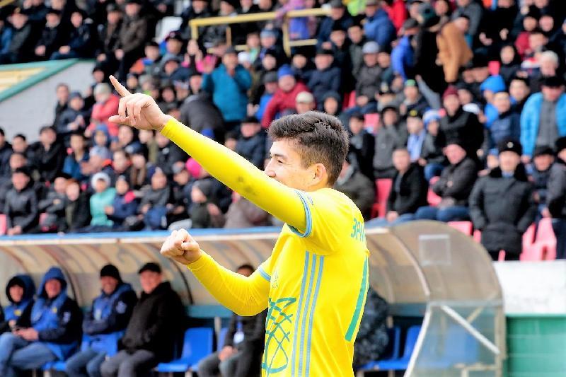Игрок сборной Казахстана перешел в российский клуб
