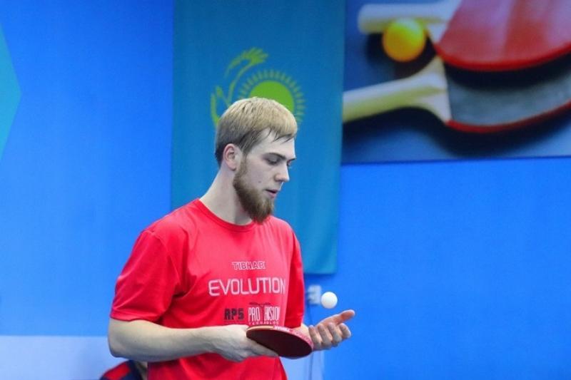乒乓球国家队选拔赛在阿拉木图举行