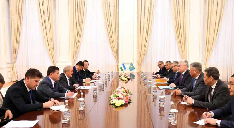 Kazakh FM had bilateral meetings in Samarkand