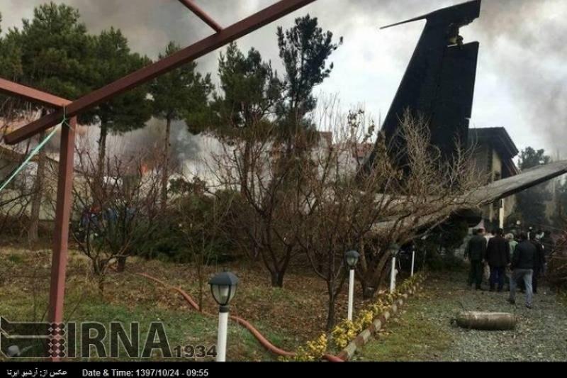 Бішкектен шыққан «Боинг-707» ұшағы  Иранда апатқа ұшырады