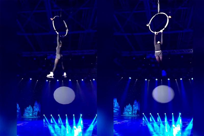 Үлкен Алматы көлінде сырғанаған қыз Ресейде шоу бағдарламаға қатысты