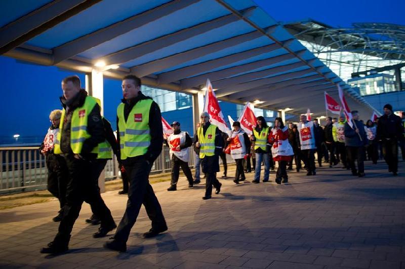 Забастовки пройдут в восьми аэропортах Германии