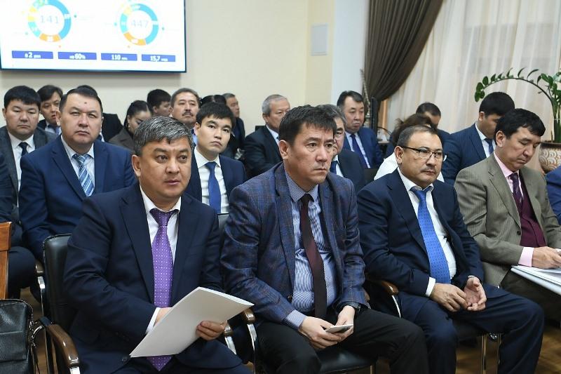 Түркістанда «Түркістан - адалдық алаңы» жобалық кеңсесінің таныстырылымы өтті