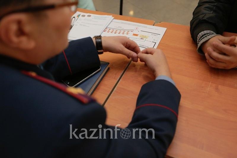 Алматы облысының  тұрғыны полицейге қол жұмсаған