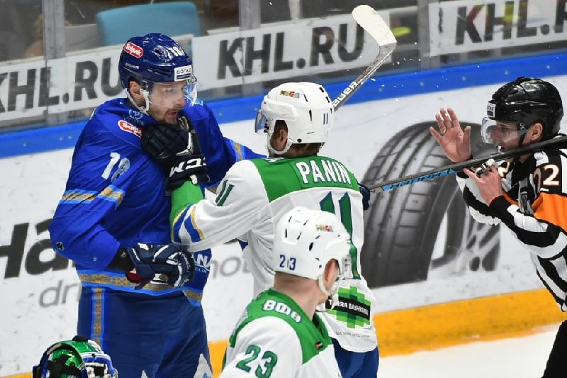 «Барыс» победил «Салавата Юлаева» и досрочно вышел в плей-офф КХЛ