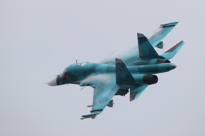 俄国防部:远东地区两架苏-34空中擦撞后坠机