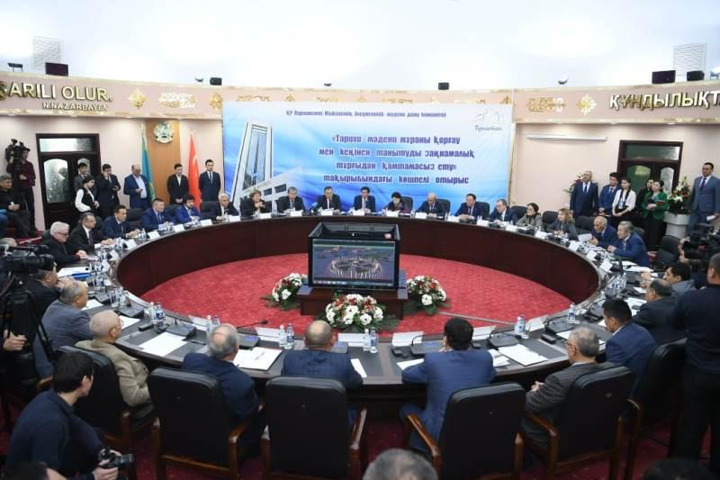 Turkestan rgn reconstruct 18 historical and cultural heritage sites