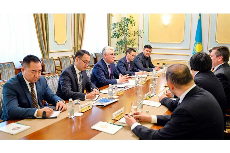 Kazakhstan-Chevron Corp. cooperation prospects discussed in Astana