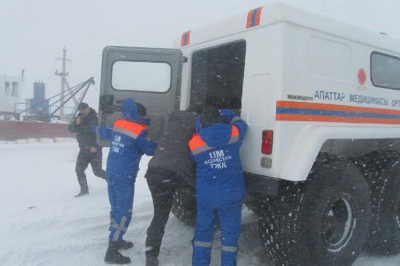 312 человек эвакуировали из снежного затора в ВКО