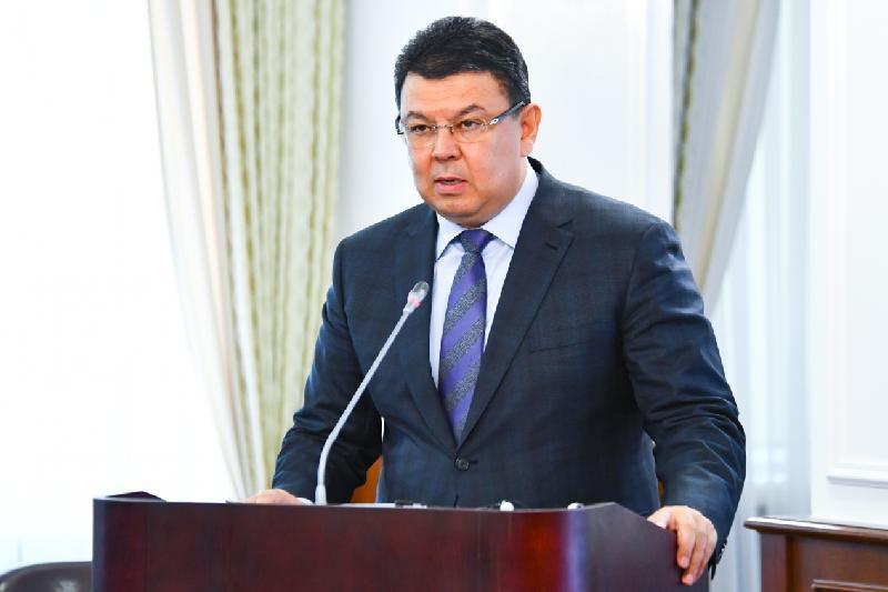 Kanat Bozumbayev reports to PM on Saryarka gas pipeline construction progress