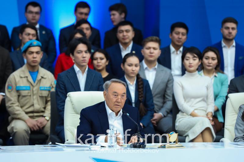 Опубликован текст выступления Президента РК на открытии Года молодежи