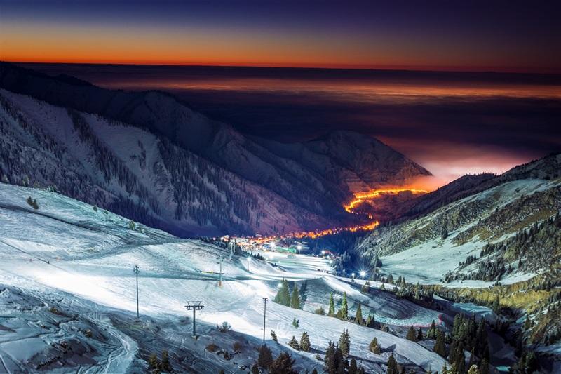 Горнолыжные курорты Алматы и Сочи договорились о сотрудничестве