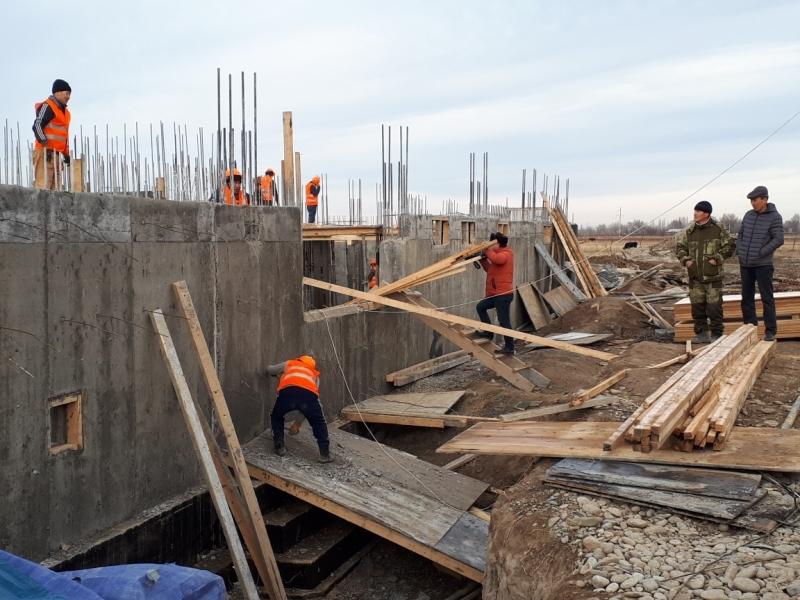 Визит-центр строят в Туркестанской области
