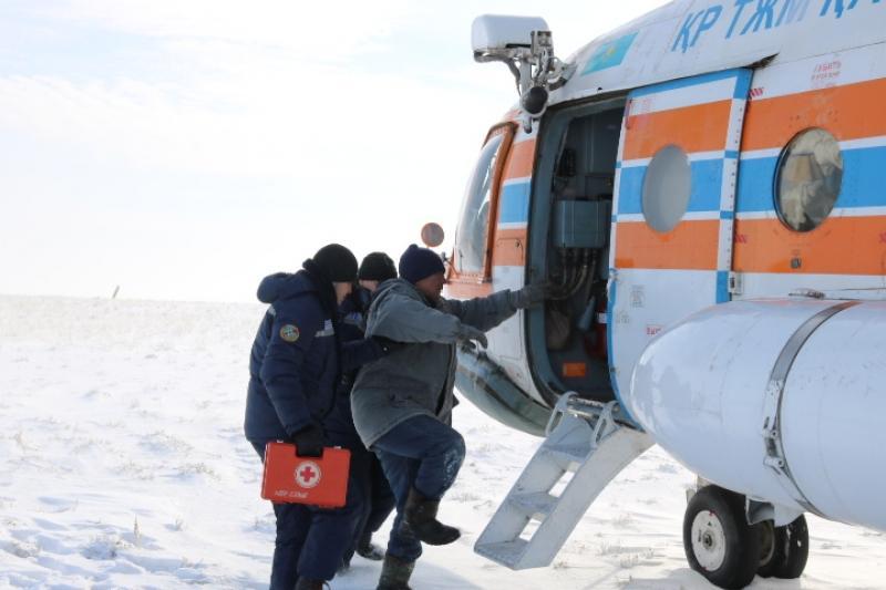 Атырау облысының тұрғыны иен далада екі күн бойы адасып жүрген