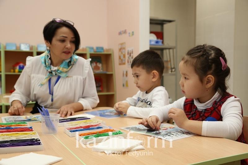 В 2,5 раза сократились очереди в детские сады Шымкента