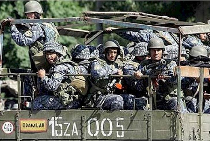 乌兹别克斯坦特种部队首次在美国参加演习
