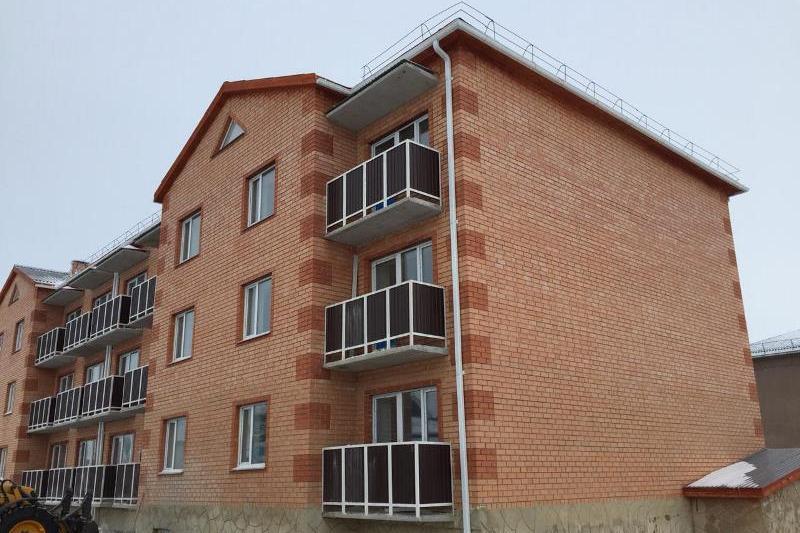 Более 5 тысяч кв. метров жилья сдали в Сандыктауском районе Акмолинской области
