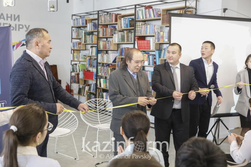 Молодежный  литературный клуб «Руханият» открыли в Алматы