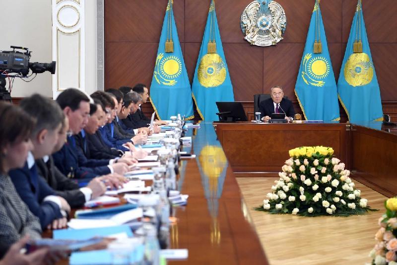 Нурсултан Назарбаев: Казахстанцы должны ощутить результаты деятельности Правительства