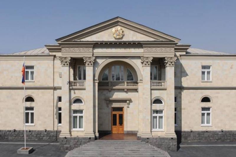 В резиденции Премьер-министра Армении совершена кража