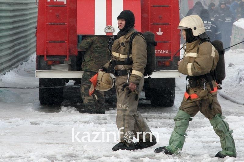 Гибель 5 детей во времянке в Астане: пожарных вызвали соседи