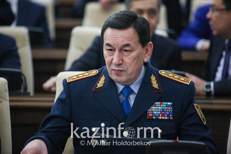 Ішкі істер министрі Қасымов 5 баланың өмірін жалмаған өрттің шығу себебін айтты