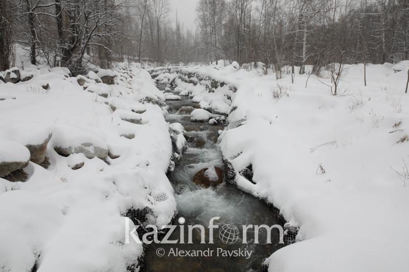 О возможных паводках из-за потепления предупредили алматинцев