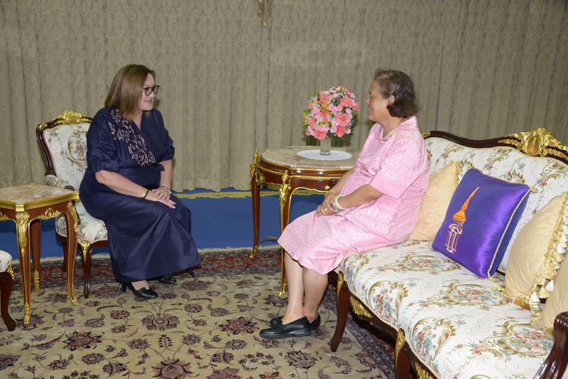 Princess of Thailand receives Kazakh Ambassador in Bangkok