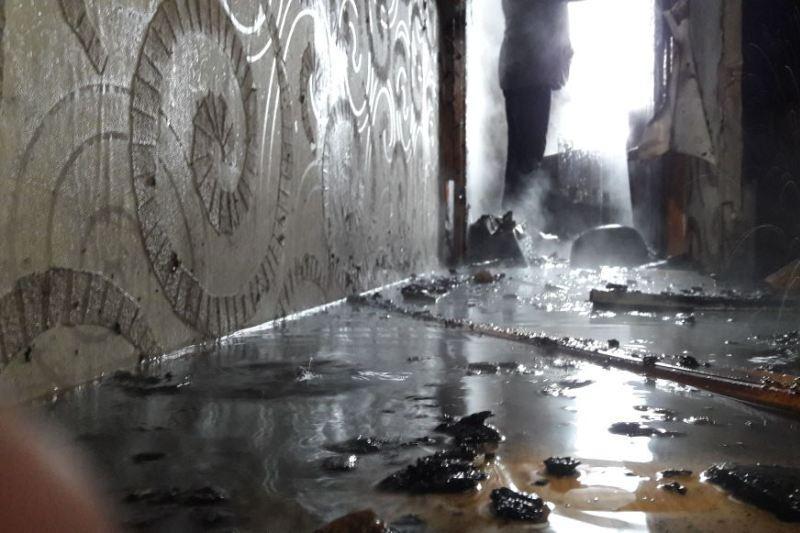 Акимат Петропавловска восстанавливает пострадавшую от хлопка газа квартиру