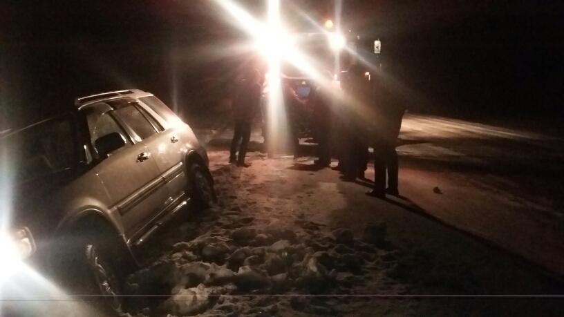 Торопившийся на похороны карагандинец слетел в кювет в Северном Казахстане