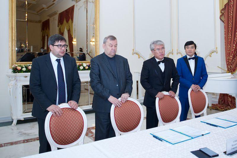 Арыстанбек Мухамедиулы встретился с руководством Большого театра России