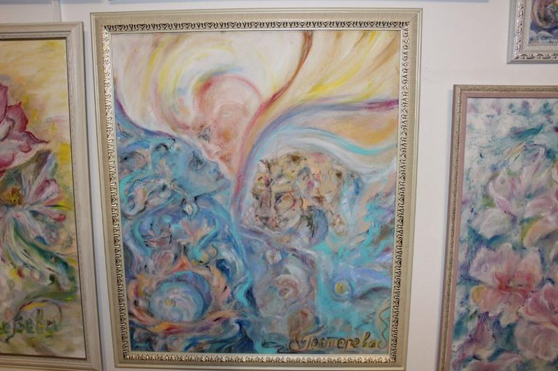 Разговор души с душой - интуитивная живопись североказахстанской художницы